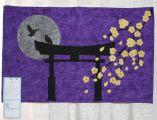 Challenge Piece - Torii at Night quilt by Scott Schau