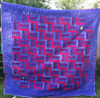 Miranda and Dave's Wedding Quilt